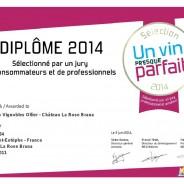 UN VIN PRESQUE PARFAIT – CHATEAU LA ROSE BRANA 2011 SELECTIONNE !